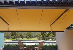 Quins Canvas Folding Arm Awnings Adelaide